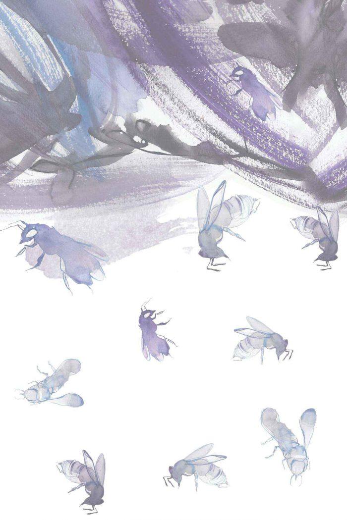 Sinestezic - Nature's Noise - Nature's Noise Dress Print