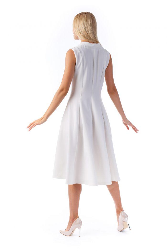 Sinestezic - White Peony Dress - Nature's Noise Collection