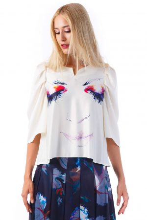 Dream to Me Blouse | Nature's Noise Collection | Sinestezic