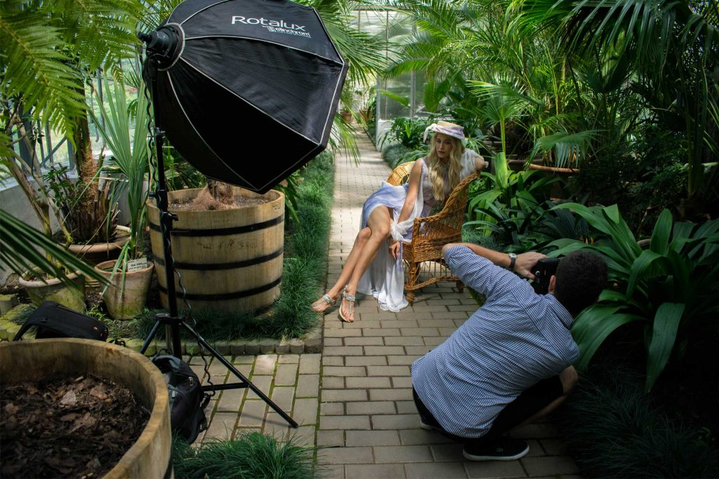 Sinestezic | Nature's Noise Collection | Shooting | Backstage