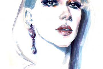Diana Enciu | Fashion Illustration | Fabulous Muses | Sinestezic