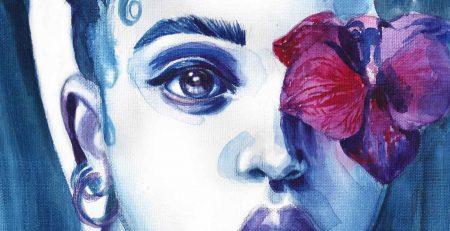 FKA Twigs   Watercolor Beauty Illustration   Sinestezic