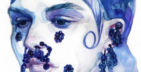 Givenchy | Beauty Illustration | Ready-to-Wear Collection | Fall 2015 | Sinestezic