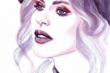 Ioana Chisiu | Online Editor | Watercolor Illustration | Sinestezic