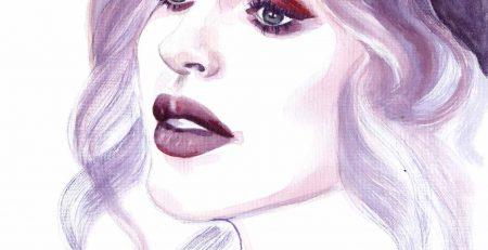Ioana Chisiu   Online Editor   Watercolor Illustration   Sinestezic