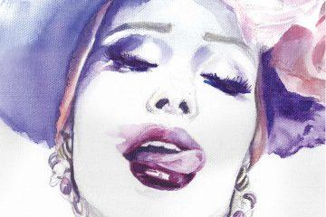 Iulia Albu | Watercolor Fashion Illustration | Sinestezic