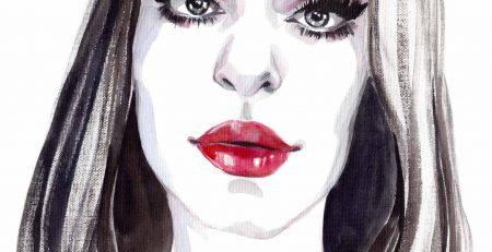 Irene Dollheart | Watercolor Mirror Contest | Sinestezic