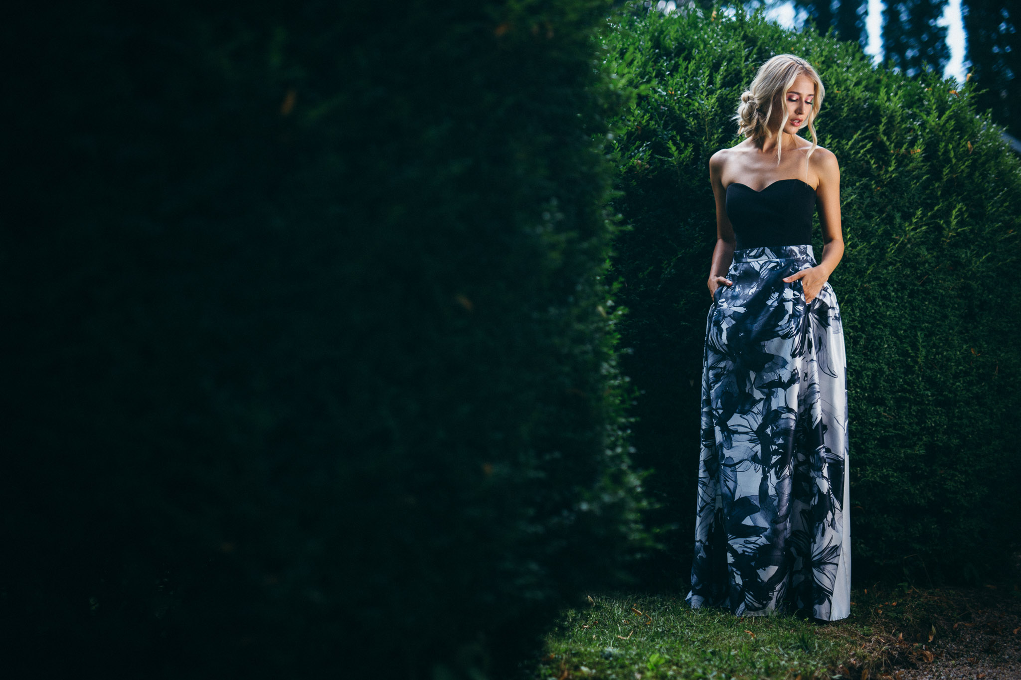 Sinestezic | Inner Flower Skirt | Unique in the true sense