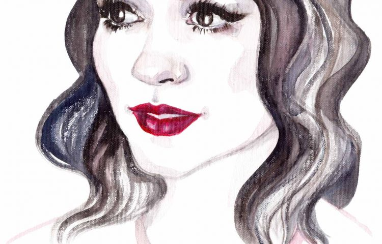 Valki Oana | Watercolor Mirror Contest | Sinestezic