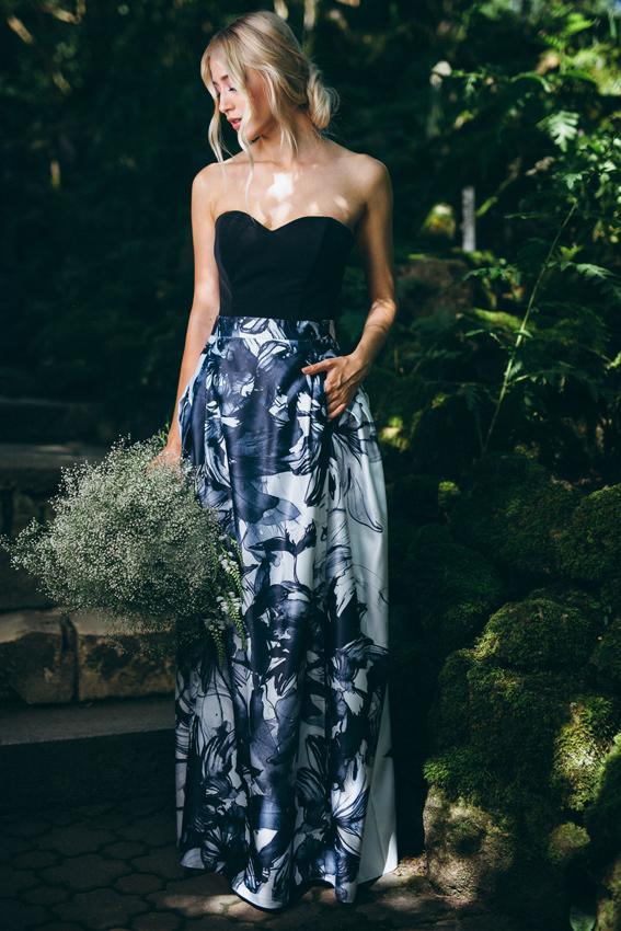 Printed maxi skirt outfit - #SinestezicQueens - Sinestezic