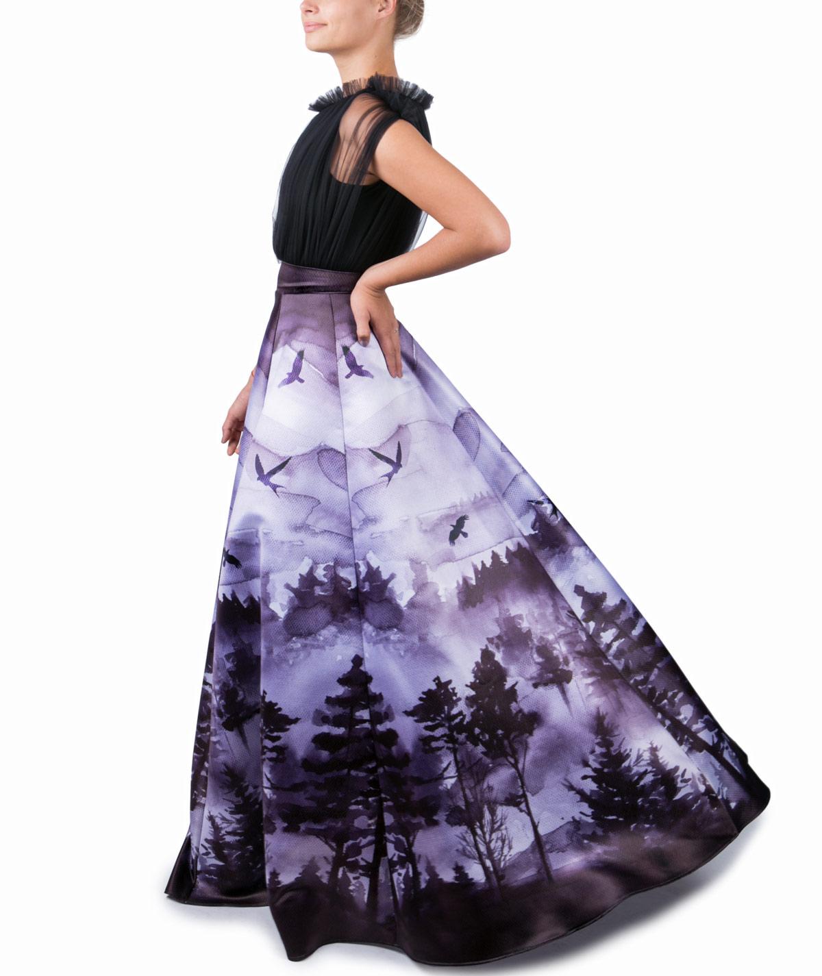 545f64e244b Black Forest – Maxi Evening Dress