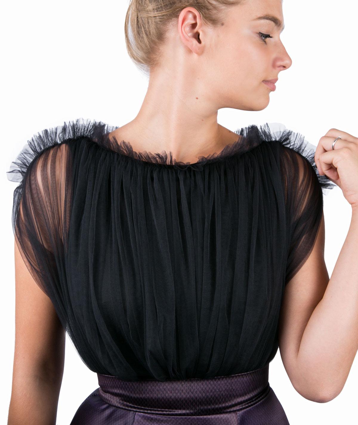 0ce0b3d5312 Black Forest Maxi Evening Dress