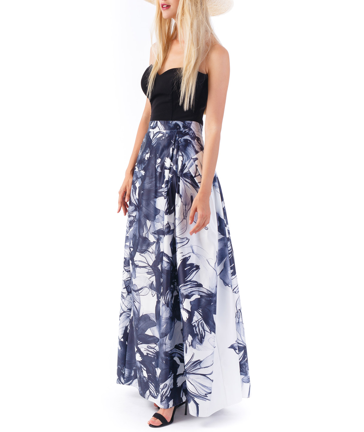 7a684f191 Inner Flower Long Evening Skirt | Sinestezic | #YOUAREUNIQUE
